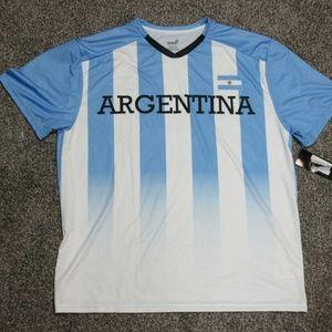 GEN2 GEN 2 Argentina Men's XL Soccer jersey shirt